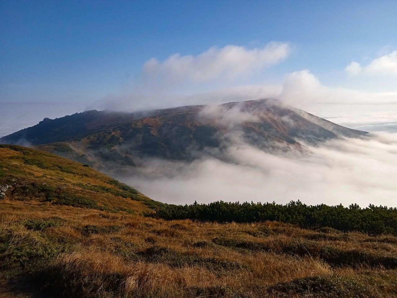 Ранкова пробіжка Чорногорою